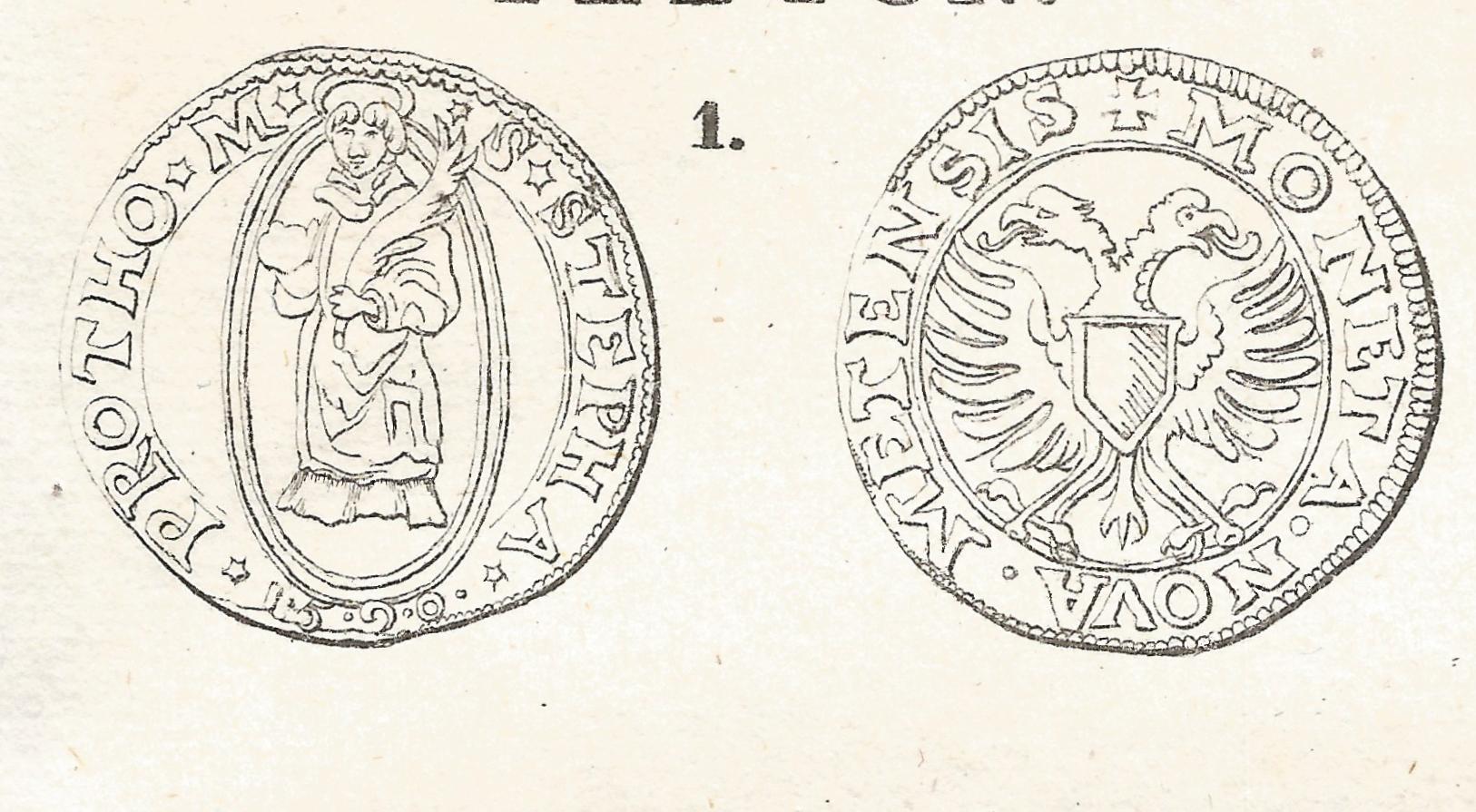 1590 Teston de la Cite de Metz