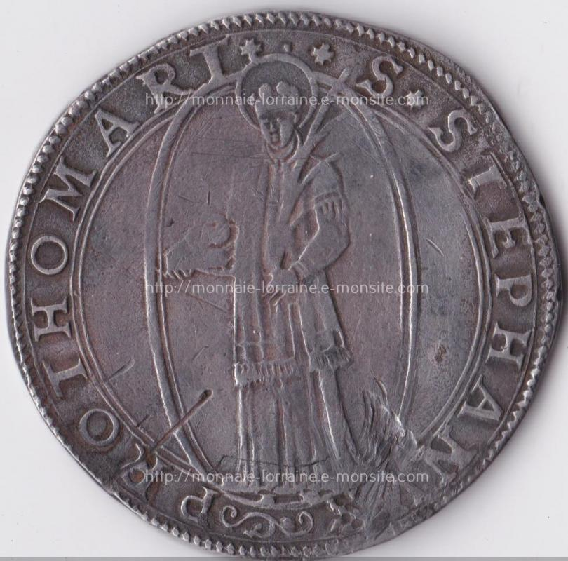 1571 thaler de metz