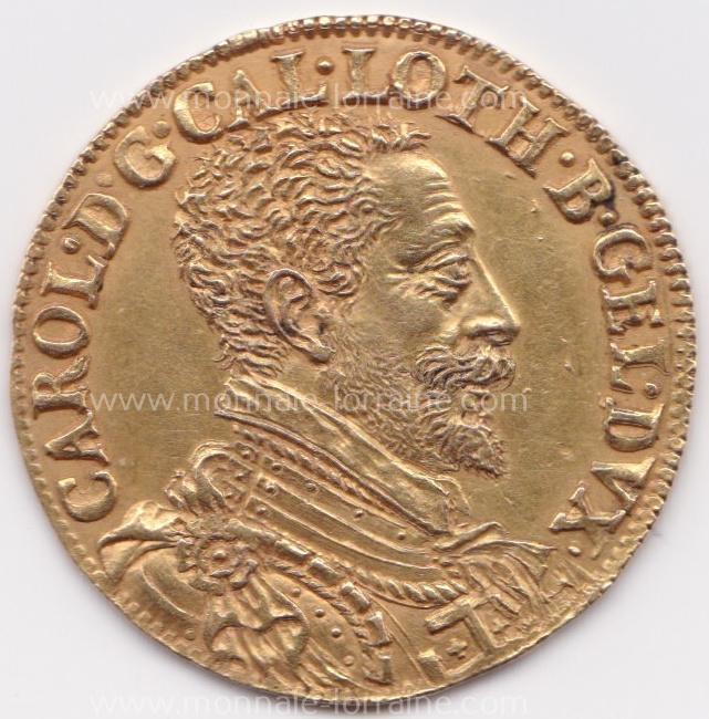1588 n 115 nancy a double ducat 1588 charles iii flon n 115 pages 651 6 23 gr