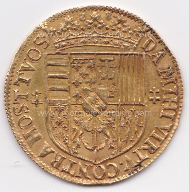 1588 n 115 nancy r double ducat 1588 charles iii flon n 115 pages 651 6 23 gr
