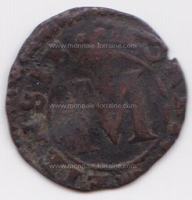 1623 liard ou quart de sous cite de metz a flon p 755