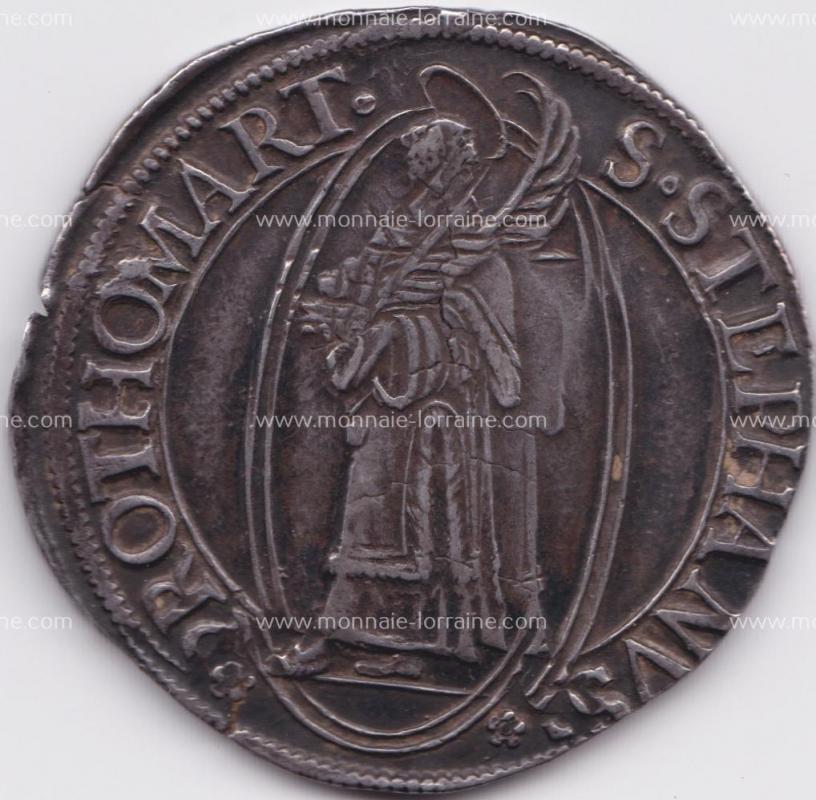 1638 c thaler de metz ecu carrée