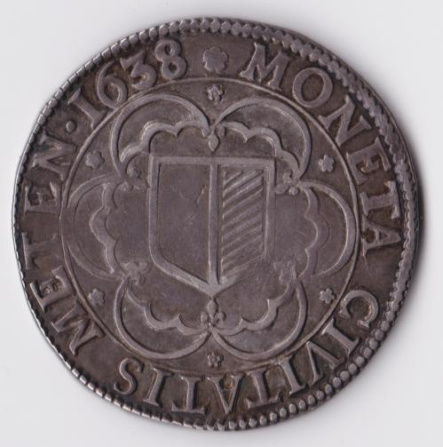 1638 c v r thaler de metz aigle bicephale