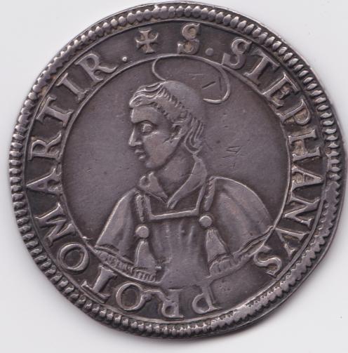 1638 thaler de metz saint etienne en buste