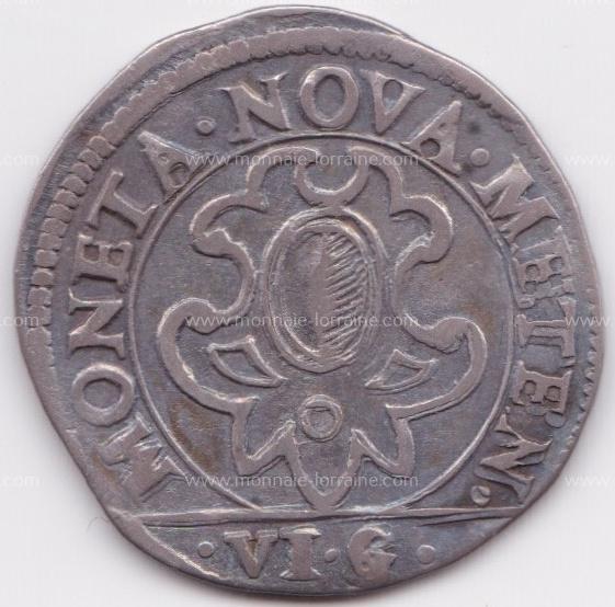 1641 franc 6 gros cite de metz r 3