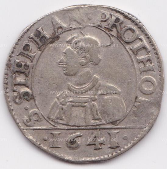 1641 franc 6 gros