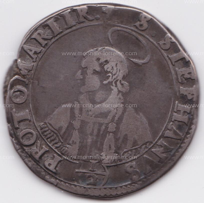 1643 demi de thaler