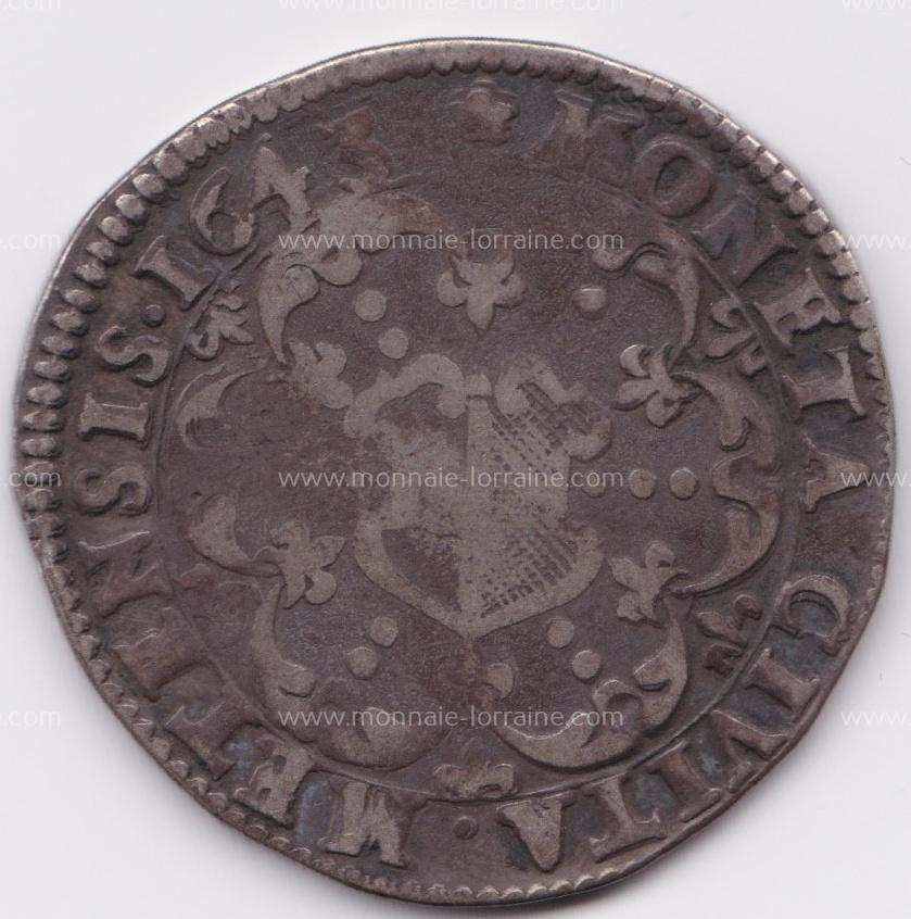 1643 demi thaler metz