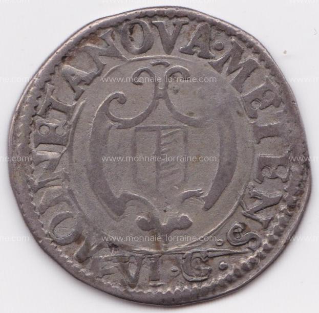 1658 franc 6 gros cite de metz r