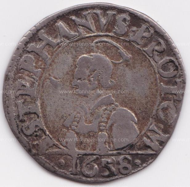1658 franc 6 gros cite de metz