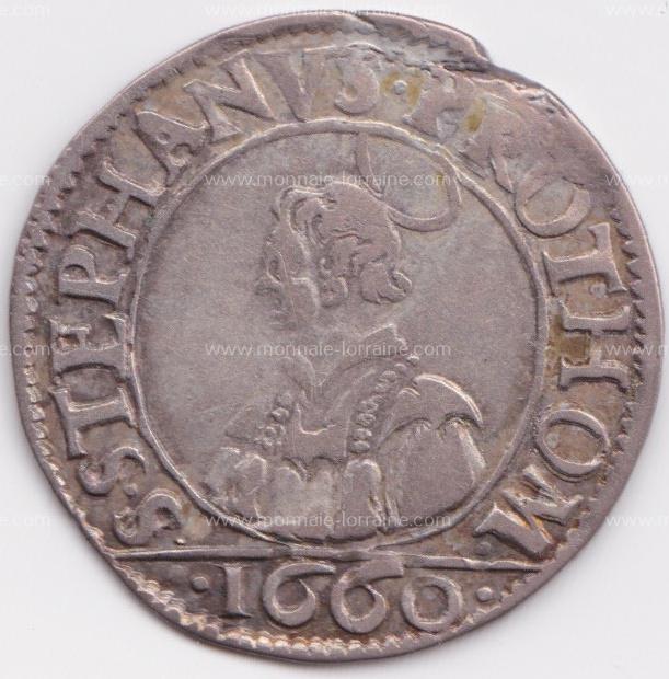1660 franc 6 gros