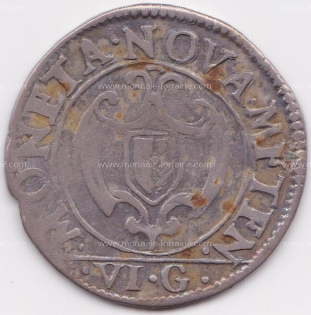 1660 franc 6 gros cite de metz r
