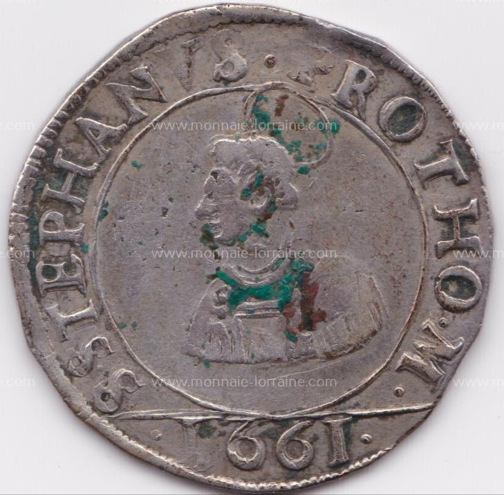 1661 franc 12 gros cite de metz