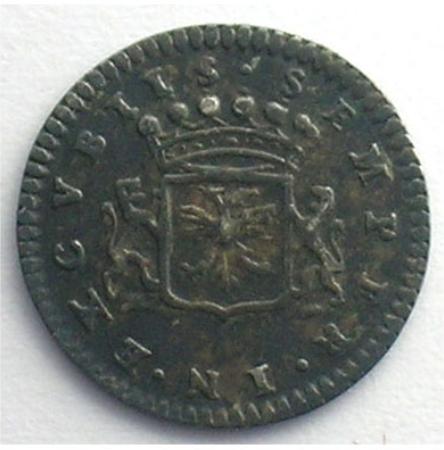 1675 bernard de pellart a argent 15mm
