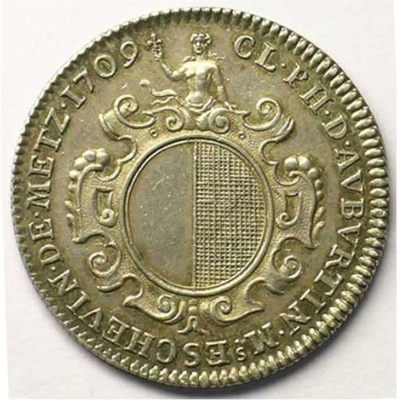 1709 claude philippe d auburtin argent r