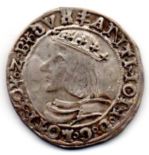 1538 var Teston D'Antoine