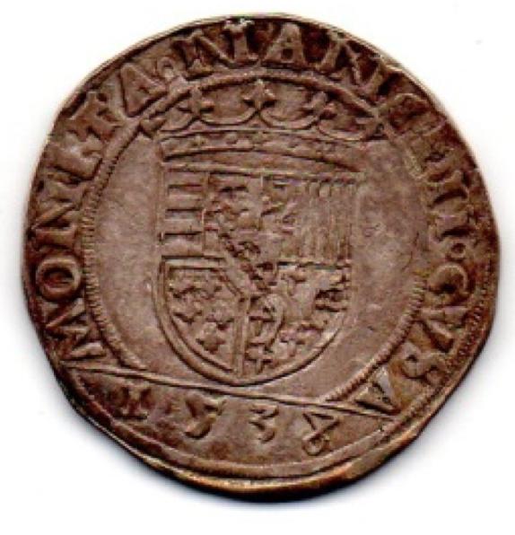 1538 var Teston D'Antoine R