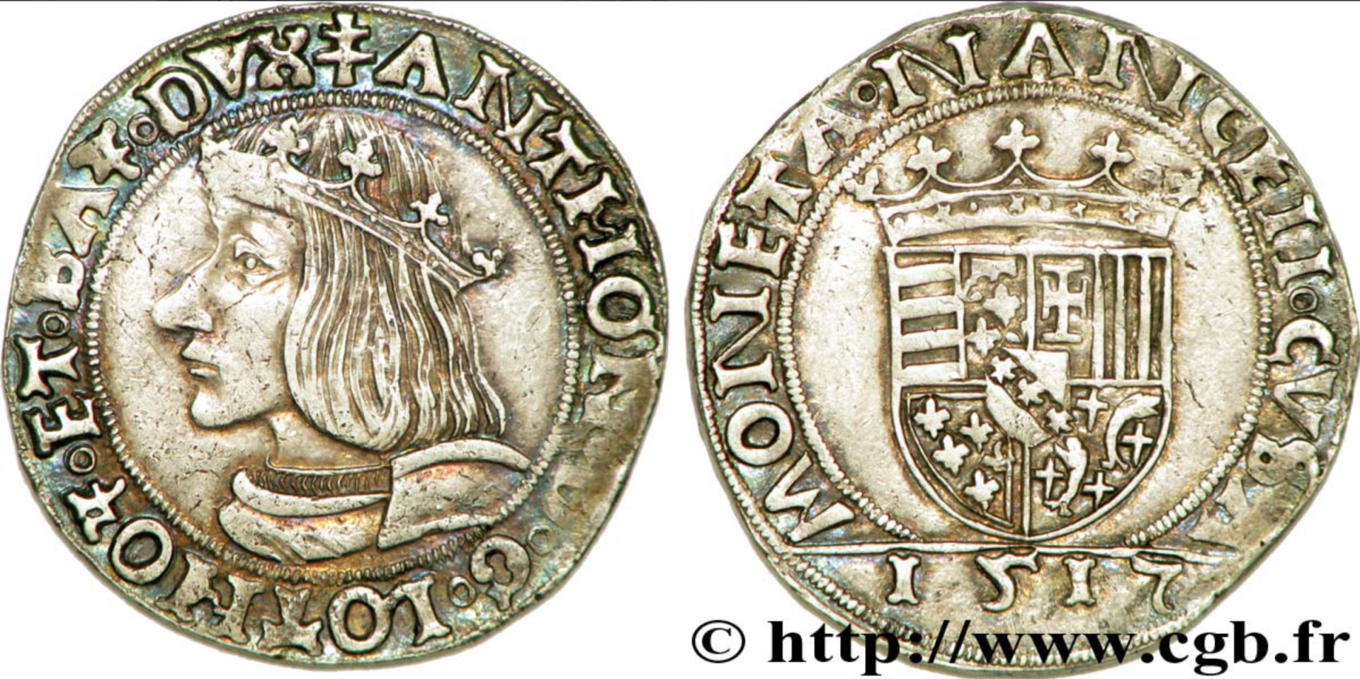 1517 Teston D'antoine