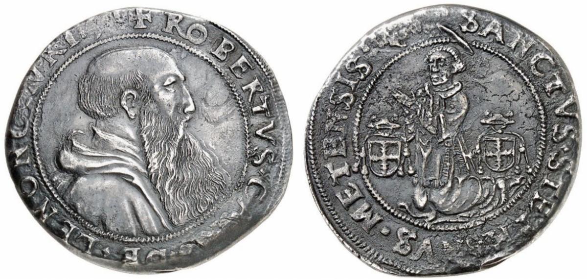 Thaler de Robert de Lenoncourt 1551