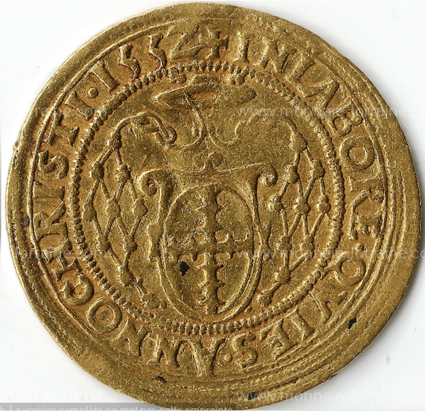 Double Ducat D'or Robert de Lenoucourt