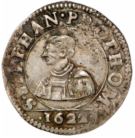 1622 franc 6 gros