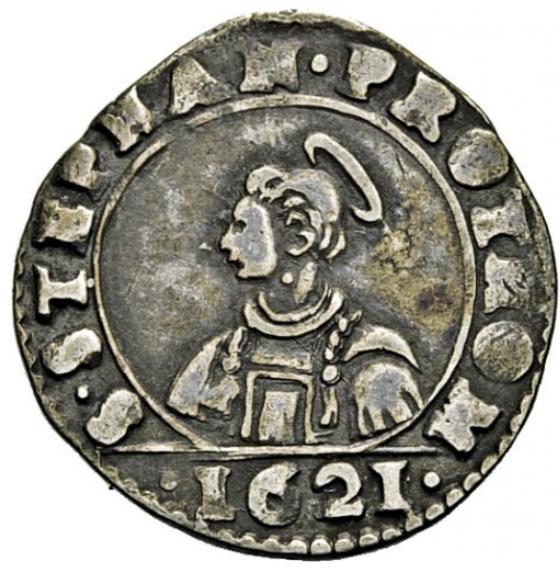 Quart de Francs 1621
