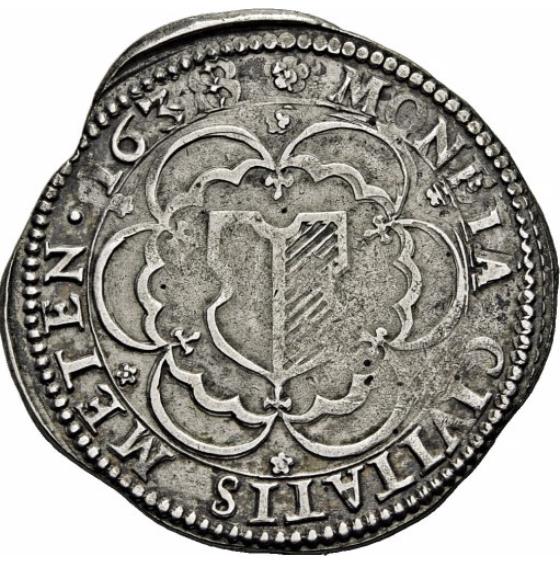 Demi thaler échancré 1638