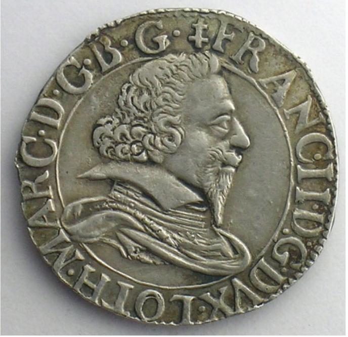 Teston François II 1626