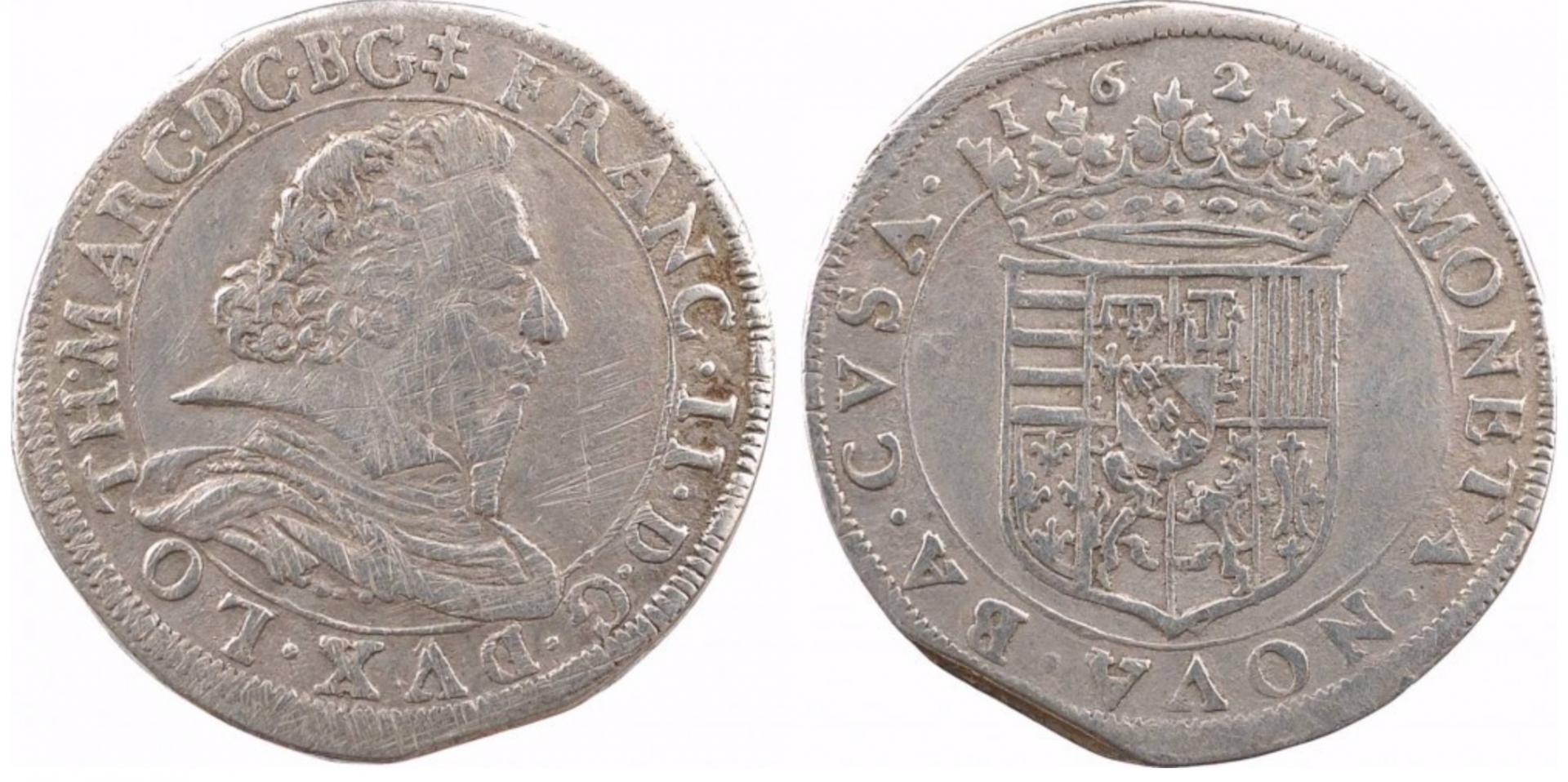 Teston François II 1627