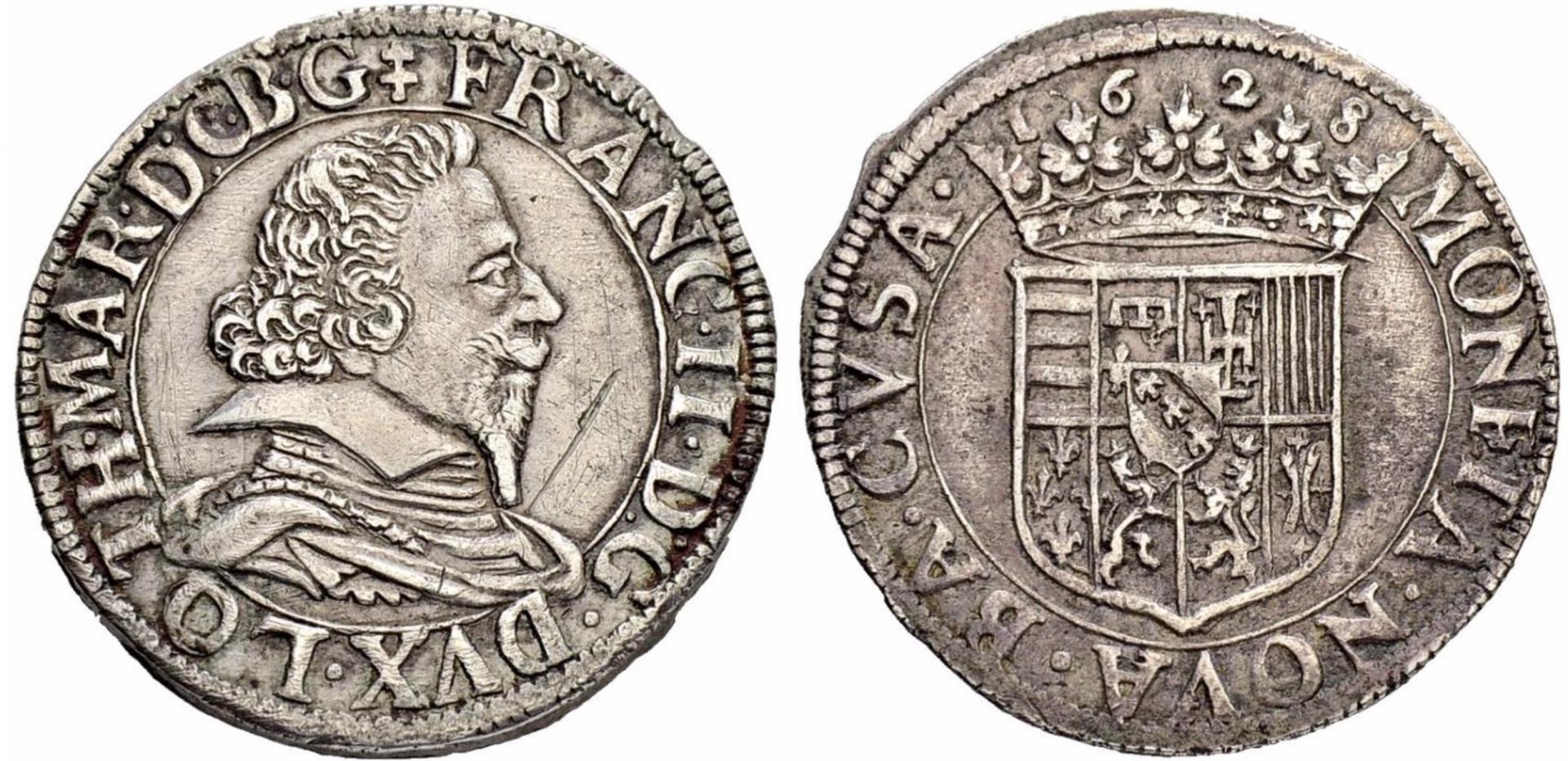 Teston François II 1628