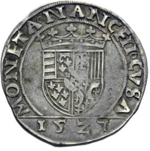 1527 Var teston