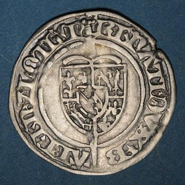 Monnaies lorraine duche de bar rene i 1451 1453 gros saint mihiel r r 134212a