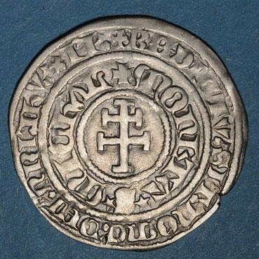 Monnaies lorraine duche de bar rene i 1451 1453 gros saint mihiel r r 134212r