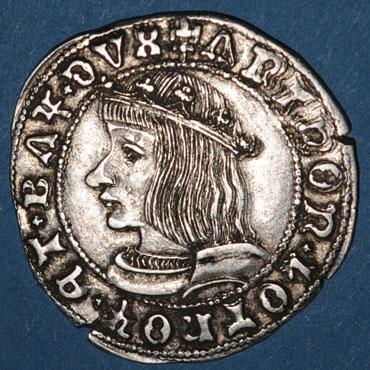 quart de teston d'antoine 1527