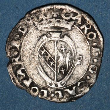 Monnaies lorraine duche de lorraine charles iii 1545 1608 blanc nancy 1545 1556 125217a
