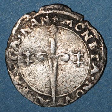 Monnaies lorraine duche de lorraine charles iii 1545 1608 blanc nancy 1545 1556 125217r