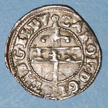 Monnaies lorraine duche de lorraine charles iii 1545 1608 liard 1581 nancy 134614a