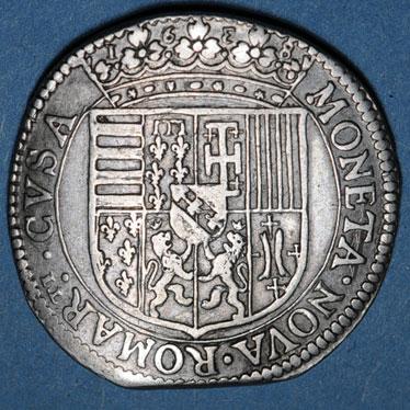 Monnaies lorraine duche de lorraine charles iv maitre de quelques places 1638 1639 teston 1638 remiremont 82772r
