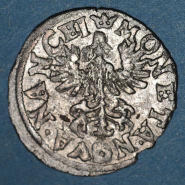 Monnaies lorraine duche de lorraine henri ii 1608 1624 demi gros nancy 125129r