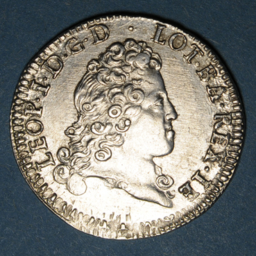 Monnaies lorraine duche de lorraine leopold 1697 1729 teston 1716 nancy 135838a