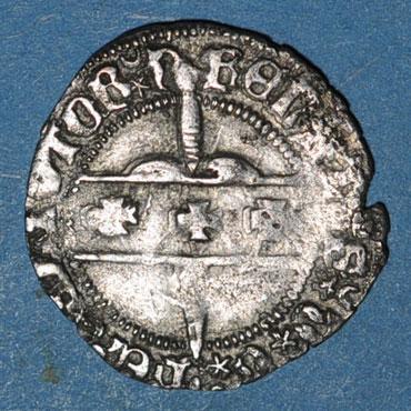 Monnaies lorraine duche de lorraine rene ii d anjou 1473 1508 double denier nancy 125929a