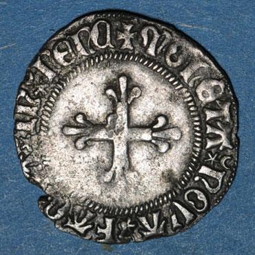 Monnaies lorraine duche de lorraine rene ii d anjou 1473 1508 double denier nancy 125929r