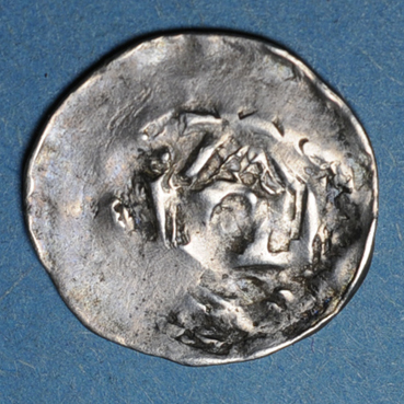 Monnaies lorraine duche de lorraine thiebaut ier 1213 1220 denier neufchateau 138339a