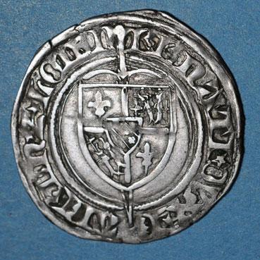 Monnaies lorraine lorraine duche de bar rene i 1419 1480 gros saint mihiel apres 1435 116284a 1