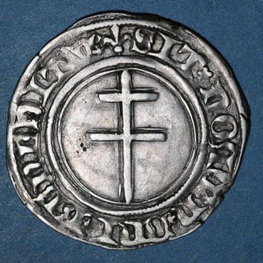 Monnaies lorraine lorraine duche de bar rene i 1419 1480 gros saint mihiel apres 1435 116284r