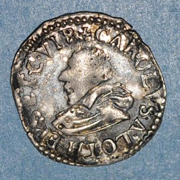 Monnaies lorraine lorraine eveche de verdun charles de lorraine 1610 1622 1 8 teston 1612 150040a