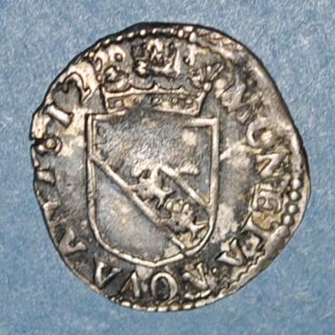Monnaies lorraine lorraine eveche de verdun charles de lorraine 1610 1622 1 8 teston 1612 150040r