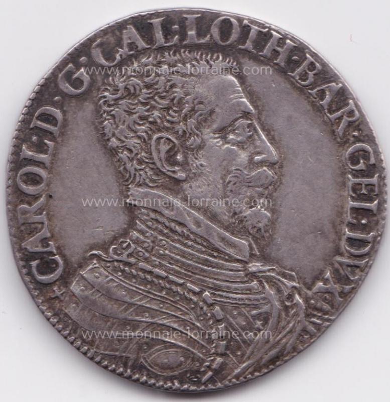 N 125 nancy a florin d argent charles iii flon n 125 pages 654 16 25 gr