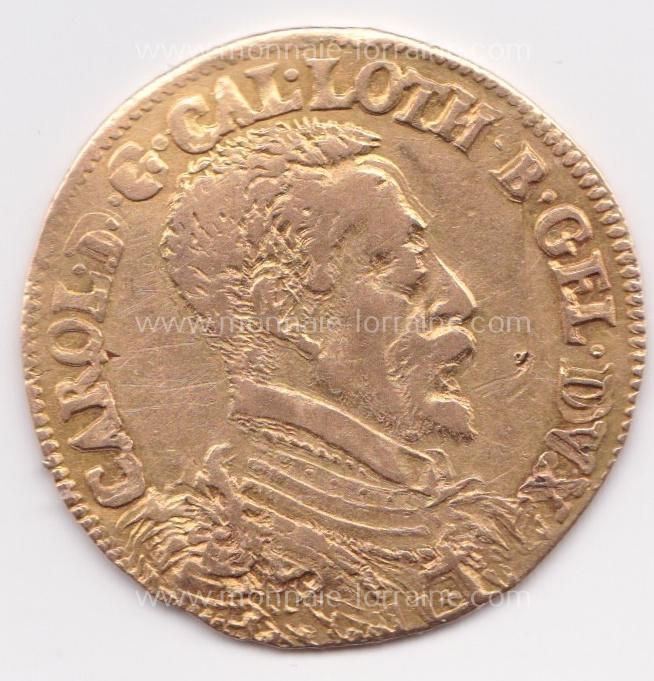 N nancy a double ducat no date no croix lorraine charles iii flon n pages 651 6 49 gr