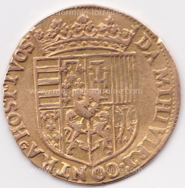 N nancy r double ducat no date no croix lorraine charles iii flon n pages 651 6 49 gr